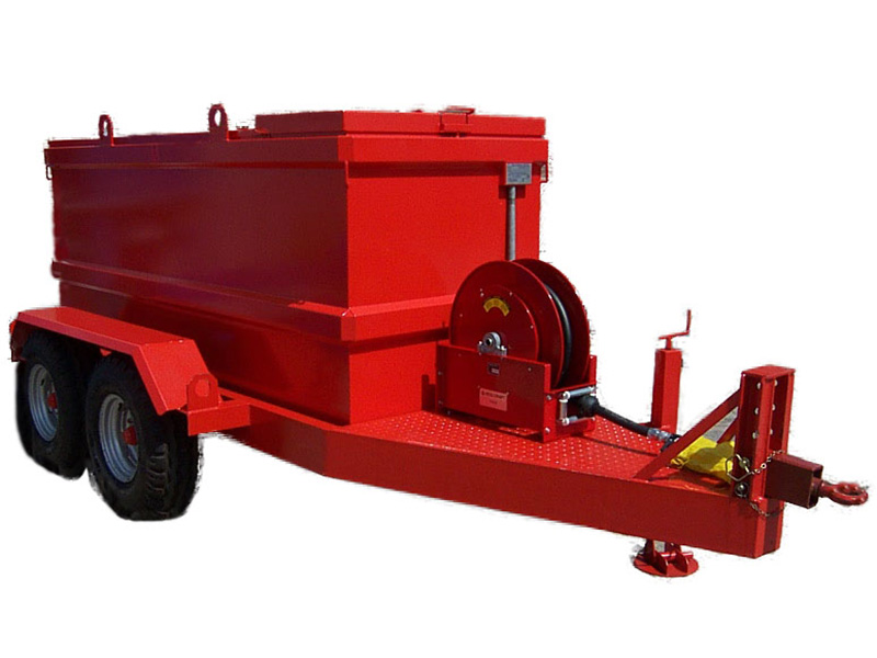 mobile kraftstofftanks tankwagen f r dieselstromaggregate. Black Bedroom Furniture Sets. Home Design Ideas